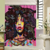 Affordable shower curtains ideas for small apartments 03