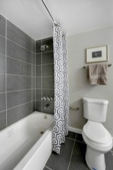 Affordable shower curtains ideas for small apartments 18