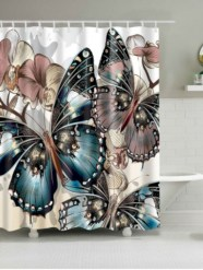 Affordable shower curtains ideas for small apartments 21