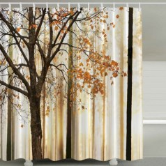 Affordable shower curtains ideas for small apartments 44