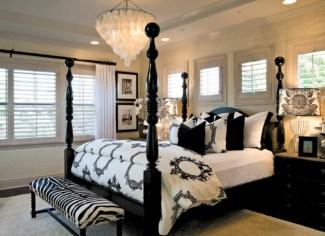 Amazing black and white bedroom ideas (11)