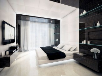 Amazing black and white bedroom ideas (15)