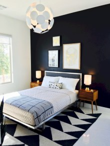 Amazing black and white bedroom ideas (40)