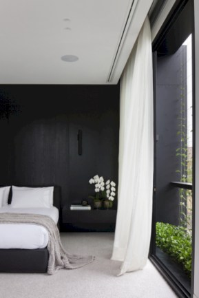Amazing black and white bedroom ideas (49)