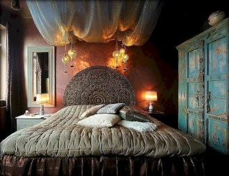 Amazing bohemian bedroom decor ideas 11