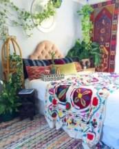 Amazing bohemian bedroom decor ideas 14