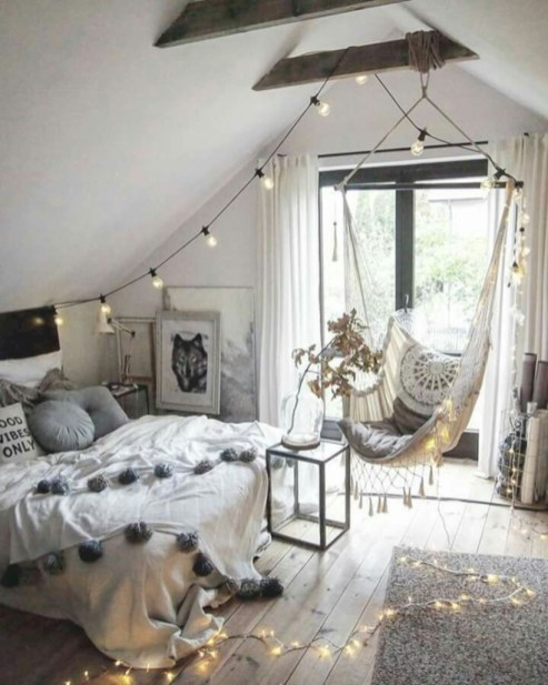 Amazing bohemian bedroom decor ideas 22