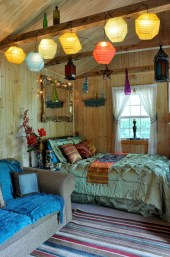 Amazing bohemian bedroom decor ideas 29