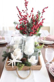 Amazing christmas centerpieces ideas you will love 49 49
