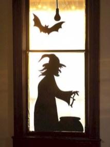 Amazing halloween window decoration ideas 47