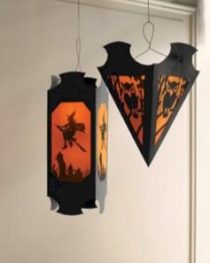 Amazing halloween window decoration ideas 50