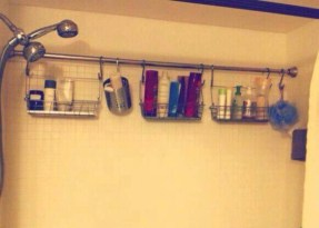Awesome diy organization bathroom ideas you should try (14)