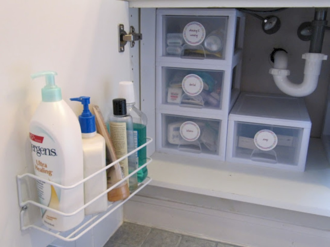Awesome diy organization bathroom ideas you should try (35)