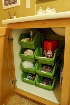 Awesome diy organization bathroom ideas you should try (38)