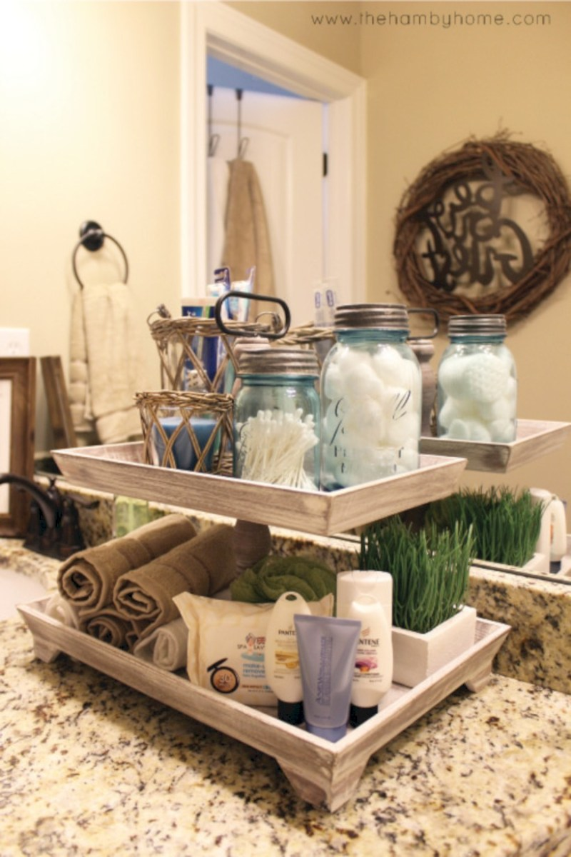 Awesome diy organization bathroom ideas you should try (5)