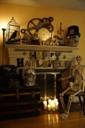 Awesome halloween indoor decoration ideas 25 25