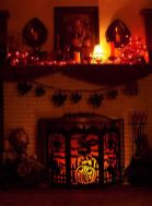 Awesome halloween indoor decoration ideas 43 43