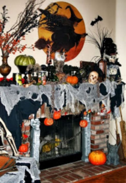 Awesome halloween indoor decoration ideas 49 49