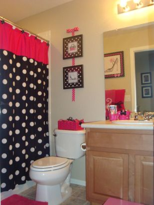 Bathroom decoration ideas for teen girls (19)