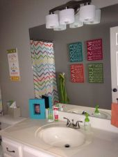 Bathroom decoration ideas for teen girls (28)