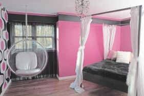 Beautiful bedrooms design ideas with swing chairs 02