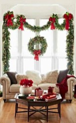 Beautiful christmas decoration ideas in red domination 03