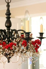 Beautiful christmas decoration ideas in red domination 04
