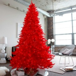 Beautiful christmas decoration ideas in red domination 24