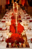 Beautiful christmas decoration ideas in red domination 45