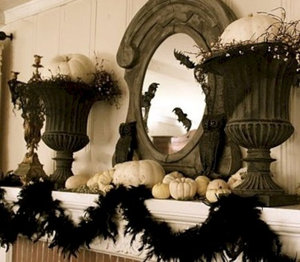 Beautiful ideas for elegant black and white halloween 08