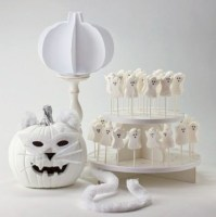 Beautiful ideas for elegant black and white halloween 12