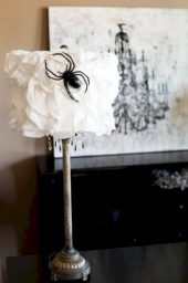 Beautiful ideas for elegant black and white halloween 19