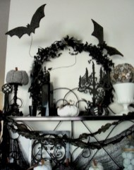 Beautiful ideas for elegant black and white halloween 36