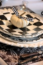 Beautiful ideas for elegant black and white halloween 45