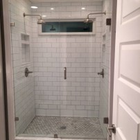Beautiful subway tile bathroom remodel and renovation (12)