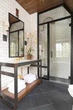 Beautiful subway tile bathroom remodel and renovation (2)