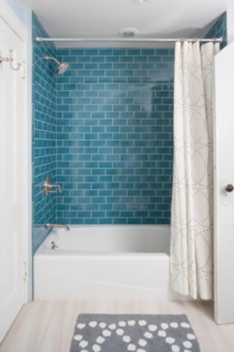 Beautiful subway tile bathroom remodel and renovation (29)