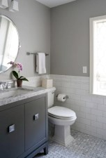 Beautiful subway tile bathroom remodel and renovation (3)