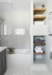 Beautiful subway tile bathroom remodel and renovation (30)