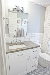 Beautiful subway tile bathroom remodel and renovation (36)