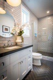 Beautiful subway tile bathroom remodel and renovation (4)