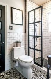 Beautiful subway tile bathroom remodel and renovation (42)