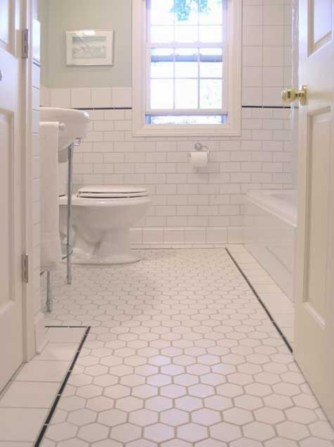 Beautiful subway tile bathroom remodel and renovation (5)