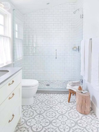 Beautiful subway tile bathroom remodel and renovation (53)