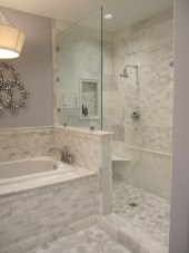 Beautiful subway tile bathroom remodel and renovation (56)