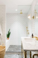 Beautiful subway tile bathroom remodel and renovation (9)