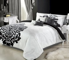 Black and white bedding sets ideas 02