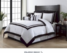 Black and white bedding sets ideas 03