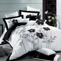 Black and white bedding sets ideas 07