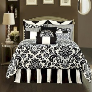 Black and white bedding sets ideas 11
